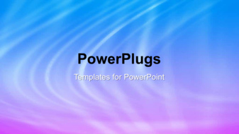 PowerPoint Template - An abstract lights background